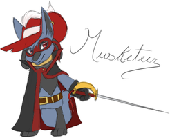 Musketeer Ref. by The-Chibster