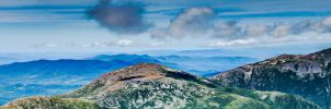 Panoramic View from Mt. Washington 5 by RustedScrapMetal