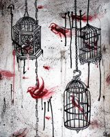 caged by midnightINK