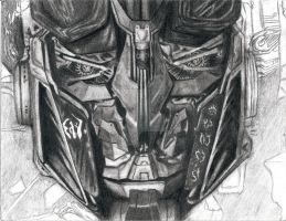 Optimus Prime Smile WIP 6 by ImtheArbiter