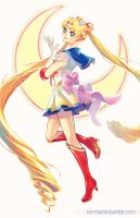 Super Sailor Moon by Kerriwon