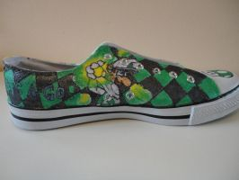Super Mario Shoes 'Lets a-go' by missMaxx