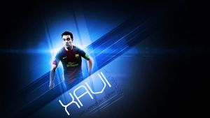 Wallpaper  Xavi Hernandez by elatik-p