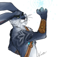 Bunnymund. by gryphonslade