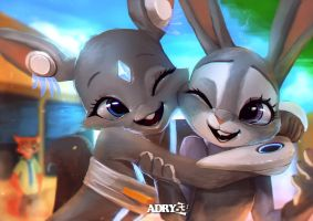 Muss and Judy by Adry53