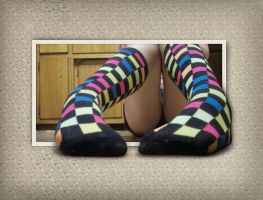 Even My Socks Are Rainbow OOB by Devoral