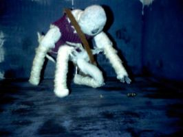 Edge of Reality (Stop motion figure) 3 by SCOTTYVENGEANCE