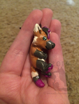 Commission: Sabine Wolfe Charm by weasels