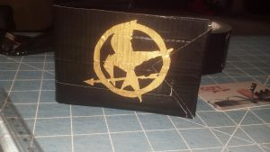 Hunger Games Mocking Jay Duct Tape Wallet by Fairygirl1031