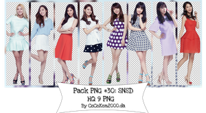 PACK PNG #30: SNSD by CeCeKen2000
