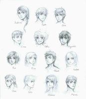 The Hunger Games: character sheet by lorellashray