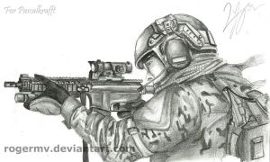 US Ranger - Soldier by RogerMV