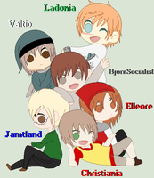 Hetalia- Nordic Micronations by Karma-Maple