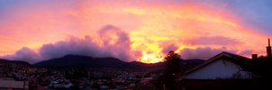 Mt. Wellington Sunset by Rotae