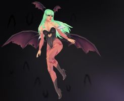 Morrigan Aensland by iononemillion