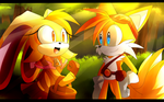 There you are, Tails by Artheyna