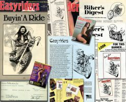 Easyrider-spot-drawings by deviney