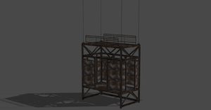 NOTHING SPECIAL.. SIMPLE CAGE FROM LEON CAMPAIGN by OoFiLoO