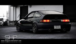 Honda CRX by shappass