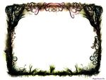 Grunge Fantasy Border by Marylise