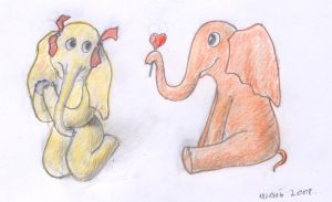 Elephants by Cunami-in-october