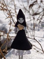 Miss Crow Doll by ladymeow