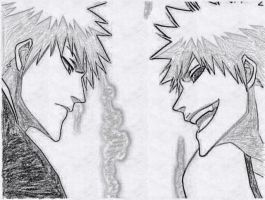 Ichigo and Hollow by Twojstarypl