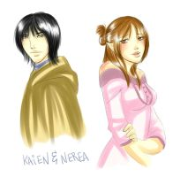 DA:O - Kaien and Nerea by Naahzda