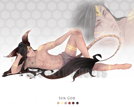 Sun God 09 Adopt Auction - CLOSED - by Noreth-Adopts