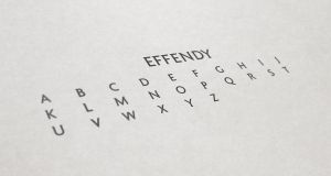 Effendy - UPPERCASE by Vernics