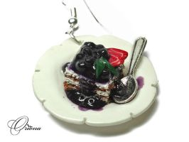 Blueberry dessert 3 by OrionaJewelry