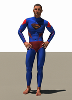 Superman second skin textures x M4 by hiram67