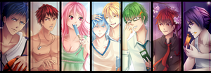KnB - All Together :D by RizaLa