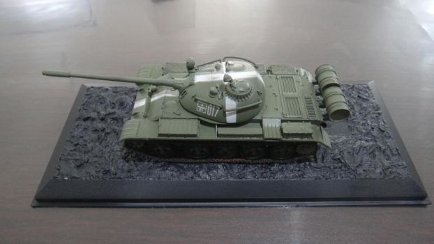 T-55, Easy Model - 1:72 Ground Armor by Roberdigiorge