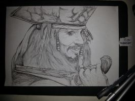 Johnny Depp - Jack Sparrow by EnterRevolution