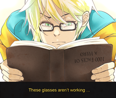 Haz - He has perfect vision by ItsRieuna