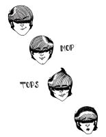 Mop Tops by PsychedelicHippie