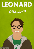 The Big Bang Theory - Leonard by BantamArt