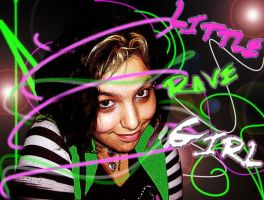 Pretty Rave Girl by Color-Casmos