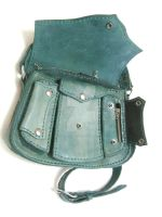 Milled Leather Bag by OfTheGodsBlood