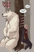 death vigil- bear....necessities XD by nebezial