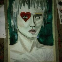 wip Queen of hearts  by littlebunnyhug
