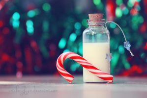Eggnog and Candycanes by catchingfyre