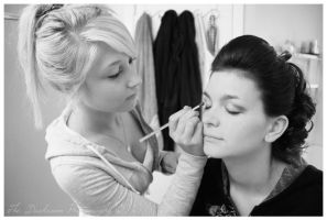 Her Own Personal MakeUp Artist by TheDarkRoom-Photo