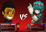 Chibi Me VS Ry by Rappull0411