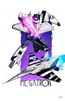 Machine Wars Megatron by dcjosh