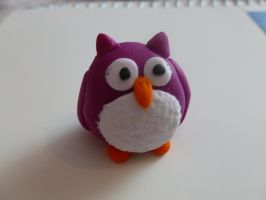 Fimo Owl by MadameMalaki