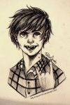 Marshall Lee - Ballpoint pen by Nasuki100
