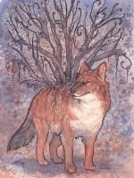 Dhole Tree by Kitsune-Seven