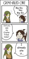Creme-Filled Cake by Alice13th